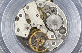 Clock interior