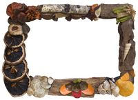 Organic Picture Frame Cutout