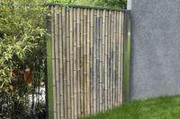 Bambus; Sichtschutz; Bambusschutzwand