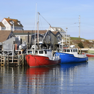 Peggy`s Cove, a Fishing Village in Nova Scotia