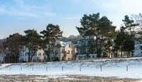 Winter an der Ostsee in Binz