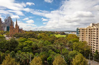 View Over Hyde Park Sydney
