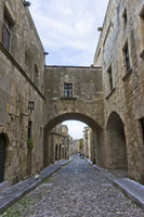 Rhodes Old City, Street of Knights, Greece
