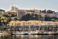 Boats In The Harbour Monte Carlo Monaco
