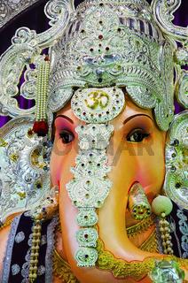 An idol of Lord Ganesha, Pune, Maharashtra, India