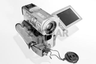 Nahaufnahme einer digitalen Videokamera