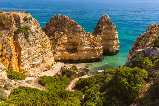 Beach near Lagos - Algarve Portugal