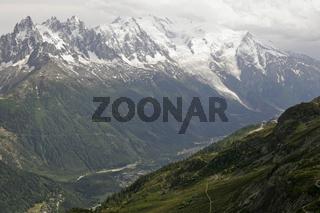 Tal von Chamonix-Mont-Blanc