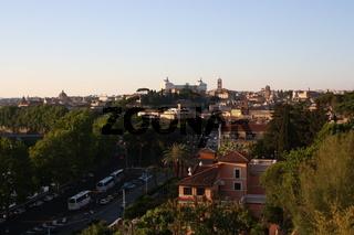Rom, Blick vom Aventin
