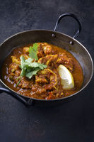 King Prawn Masala in Bowl
