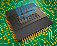 Processor and combination lock