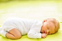 One week old newborn baby