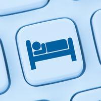 Hotel Übernachtung Zimmer Hotelzimmer Reise online buchen Internet Computer web