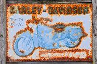 Blechschild The 74 O.H.V. Harley Davidson.jpg