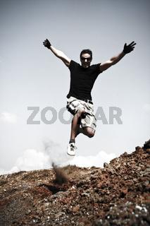 Dynamic Jump On A Hill