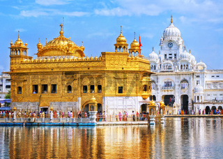 Golden Temple, the main sanctuary of Sikhs, Amritsar, India