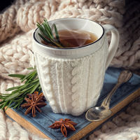 herbal tea with rosemary