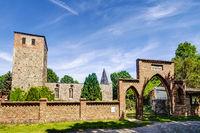 Kirchenruine Beiersdorf in Beiersdorf, Brandenburg, Deutschland