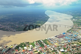 Paramaribo und Suriname River Suriname