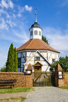 Kirche in Garz, Havelberg, Sachsen-Anhalt, Deutschland