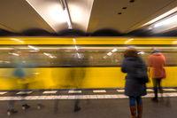 Bahnsteig in Berlin