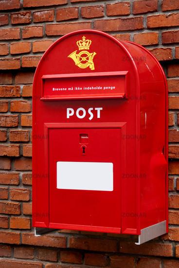 Foto Briefkasten Der Dänischen Post Bild 913841