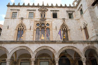 Sponza Palast in Dubrovnik. Kroatien
