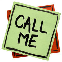 call me reminder note