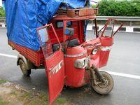 Rikshaw Unfall