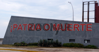 'Patria o Muerte','Vaterland oder Tod',Havanna,Kuba