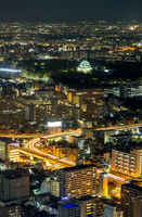 Aerial view of Nagoya