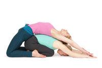 Yoga Frau Position 174