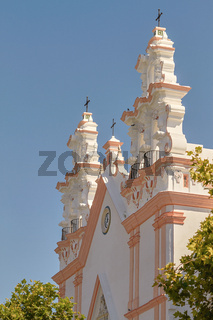 Church of El Carmen in Cadiz, Andalusia, Spain