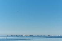 View to the La Manga del Mar Menor seaside spit, Spain.