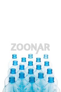 Plastikflaschen als Plastikmüll