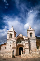 Small Church in Colca Canyon