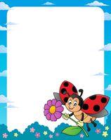 Ladybug theme frame 1