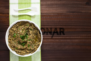 Roasted Eggplant Dip or Spread
