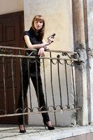 Frau als Geheimagent