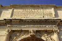 Titusbogen im Forum Romanum Rom