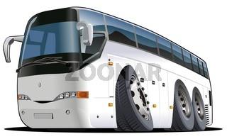 Cartoon Reisebus
