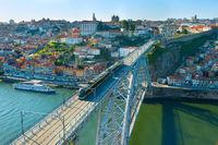 Porto Old Town skyline, Portugal