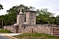 Gate in Historic St. Augustine, Florida.