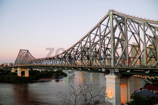 Pre Dawn Story Bridge Brisbane Australia