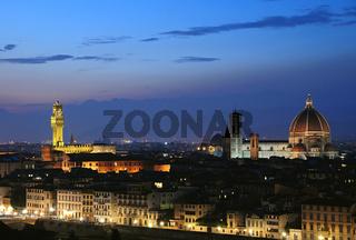 Florenz- Abendstimmung