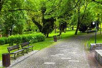 Green natural environment