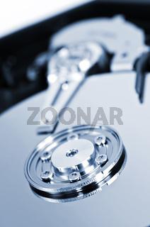 Hard drive detail