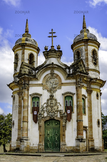 Ouro Preto St Francis of Assis church