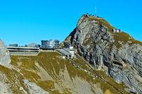 Bergstation Kulm der Pilatusbahn
