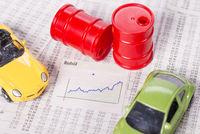 Steigender Preis für Rohöl und Benzin